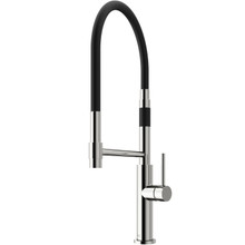 VIGO VG02026STK2 Norwood Magnetic Spray Kitchen Faucet With Soap Dispenser In Stainless Steel