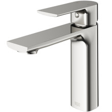 VIGO VG01043BN Davidson Single Hole Bathroom Faucet In Brushed Nickel
