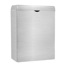 Alpine 451-SSB Sanitary Napkin Receptacle - Brushed Stainless Steel