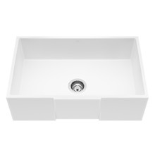 "VIGO VGRA3018SQ 30"" Square Front Matte Stone Farmhouse Kitchen Sink"