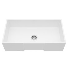 "VIGO VGRA3618SQ 36"" Square Front Matte Stone Farmhouse Kitchen Sink"