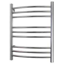 WarmlyYours TW-R09PS-HW Riviera Towel Warmer - Hardwired - Polished Stainless Steel