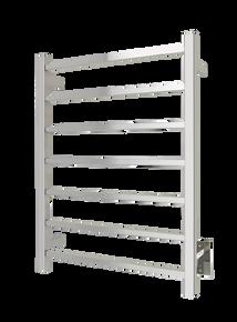 WarmlyYours TWS2-TAH07PH Tahoe 07 Towel Warmer, Hardwired, 7 bars - Polished Stainless Steel