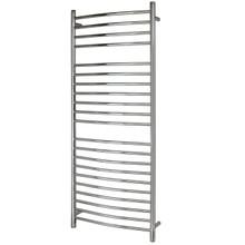 WarmlyYours TWS3-VID21PH Vida Towel Warmer, Hardwired, 21 Bars - Polished Stainless Steel