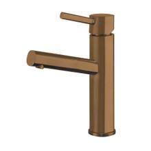 Whitehaus WHS1206-SB-CO Waterhaus Single Lever  Lavatory Faucet - Copper