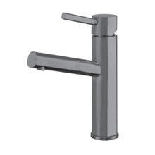 Whitehaus WHS1206-SB-GM Waterhaus Single Lever Lavatory Faucet - Gunmetal