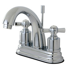 Kingston Brass KS8611ZX Two Handle Centerset Lavatory Faucet - Polished Chrome