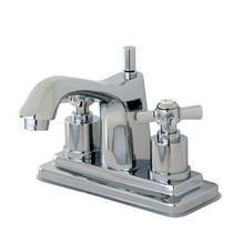 Kingston Brass KS8641ZX Two Handle Centerset Lavatory Faucet - Polished Chrome
