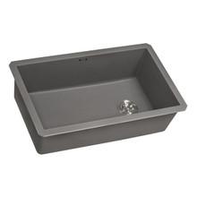 Ruvati 31 x 19 inch epiGranite Undermount Granite Composite Single Bowl Kitchen Sink - Urban Gray - RVG2033GR