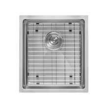 Ruvati 14-inch Undermount 16 Gauge Tight Radius Bar Prep Sink Stainless Steel Single Bowl - RVH7114