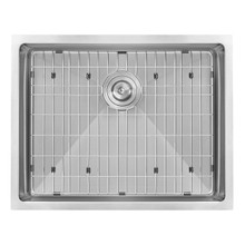 Ruvati 23-inch Undermount 16 Gauge Tight Radius Stainless Steel Kitchen Sink Single Bowl - RVH7123