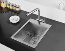 Ruvati 15 x 20 inch Drop-in Topmount Bar Prep Sink 16 Gauge Stainless Steel Single Bowl - RVH8110