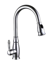 Vanity Art F80032 Pull Out Spray Kitchen Faucet - Chrome