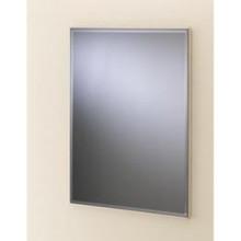 Valsan VDS 53206MB Rectangular Framed Mirror w/Bevel - Matte Black