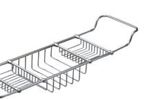 Valsan Essentials 53405GD Adjustable Bathtub Caddy - Rack - Gold