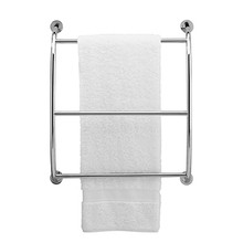 Valsan 57200UB Essentials Wall Mounted Towel Bar - Rack - Unlacquered Brass