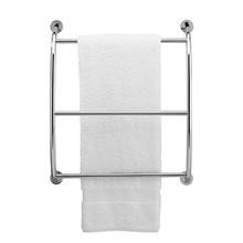 Valsan 57200UB Essentials Wall Mounted Towel Bar - Rack - Unlacquered Brass