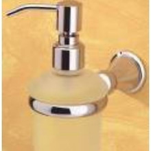 Valsan 66884UB Sintra Soap Dispenser - Wall Mounted - Unlacquered Brass