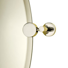 Valsan 67503MB Porto Mirror Support - Matte Black