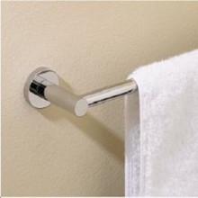 "Valsan 67545UB Porto 19 11/16"" Towel Rail - Bar - Unlacquered Brass"