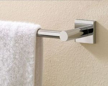 "Valsan 67645GD Braga 19 11/16"" Towel Bar - Gold"