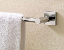 "Valsan 67645MB Braga 19 11/16"" Towel Bar - Matte Black"