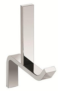Valsan PS122PV Sensis Flat Curved Spare Toilet Paper Roll Holder - Polished Brass