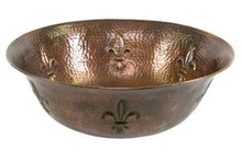 "Hamat OPULENCE 16"" Vessel Sink - Antique Copper"