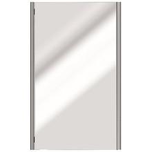 "Valsan PS190MB Sensis Wall Mounted Mirror 21 1/2"" W x 31 1/2"" H - Matte Black"