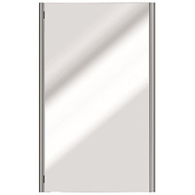 """Valsan PS190UB Sensis Wall Mounted Mirror 21 1/2"""" W x 31 1/2"""" H - Unlacquered Brass"""