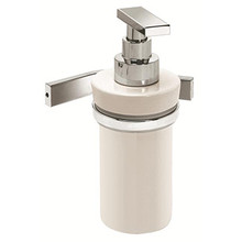 Valsan PS231UB Sensis Wall Mounted Liquid Soap Dispenser - Unlacquered Brass