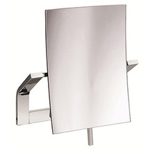 Valsan PS377UB Sensis Wall Mounted x3 Magnifying Mirror - Unlacquered Brass