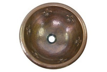 "Hamat MONARCH 15"" Lav Sink - Antique Copper"