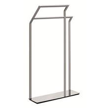 Valsan PS899UB Sensis Freestanding Towel Rail / Bar - Unlacquered Brass
