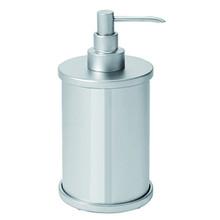 Valsan PSC631UB Pombo Scirocco Freestanding Liquid Soap Dispenser - Unlacquered Brass