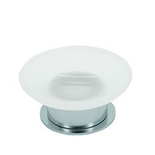 Valsan PSC635UB Pombo Scirocco Freestanding Soap Dish Holder - Unlacquered Brass