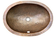 "Hamat SILVERTON 21"" x 15-1/2"" Lav Sink W/Flat Lip-Antique Copper"