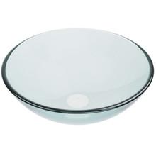 VIGO VG07074 Crystalline Glass Vessel Bathroom Sink