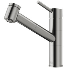 VIGO VG02021ST Branson Pull-Out Spray Kitchen Faucet In Stainless Steel