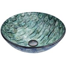 VIGO VG07049 Oceania Glass Vessel Bathroom Sink