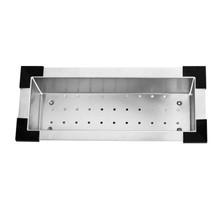 """Vigo VGA0819 Kitchen Sink Colander - Stainless 8 1/4"""" W X 18 7/8"""" D"""