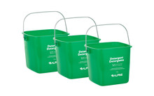 Alpine 486-3-GRN 3 Qt. Green Cleaning Pail - Bucket