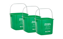 Alpine 486-6-GRN 6 Qt. Green Cleaning Pail - Bucket