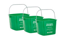 Alpine 486-8-GRN 8 Qt. Green Cleaning Pail - Bucket