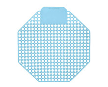 Alpine 4111-CB Urinal Screen - Pack of 10 - Cotton Blossom Scented - Blue