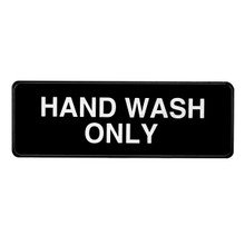 Alpine and Wash Only Sign, 3 in. x 9 in.
