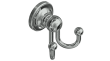 Valsan 69312PV Olympia Polished Brass Double Robe Hook