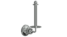 Valsan 69322NI Olympia Polished Nickel Spare Roll Holder