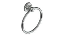Valsan 69340UB Olympia Unlacquered Brass Towel Ring