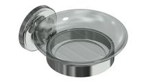 Valsan 69385UB Olympia Unlacquered Brass Soap Dish Holder